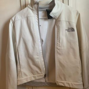 off white North Face jacket
